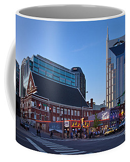 Coffee Mug featuring the photograph Downtown Nashville by Brian Jannsen
