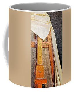 Draped Easel Coffee Mug by Lilliana Mendez
