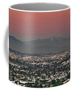 Elevated View Of Buildings In City Coffee Mug