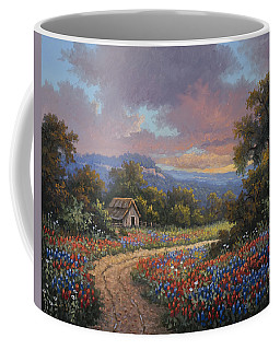 Coffee Mug featuring the painting Evening Medley by Kyle Wood