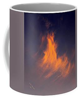 Fire In The Sky Coffee Mug by Jeanette C Landstrom