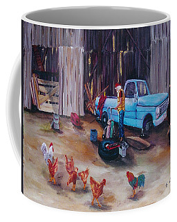 Flat Tire Coffee Mug