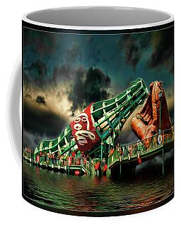 Floating Coke Bottle Coffee Mug