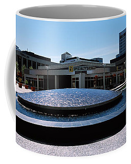 Fountain In A Park, Plaza De Cesar Coffee Mug