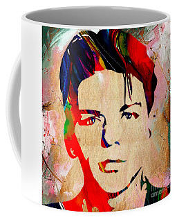 Frank Sinatra Collection Coffee Mug by Marvin Blaine