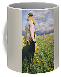 French Shepherd Coffee Mug by Chuck Staley