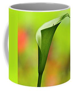 Green Calla Lily Coffee Mug