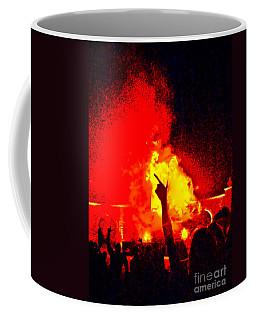 Coffee Mug featuring the photograph Guns-up Salute by Mae Wertz