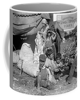 Coffee Mug featuring the photograph Gypsies, C1923 by Granger