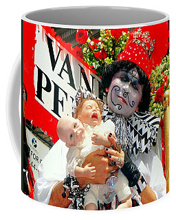 Coffee Mug featuring the photograph 2 Heads Are Better Than One by Ed Weidman