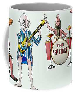 Sixties And Seventies Musicians Coffee Mug