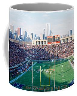 High Angle View Of Spectators Coffee Mug