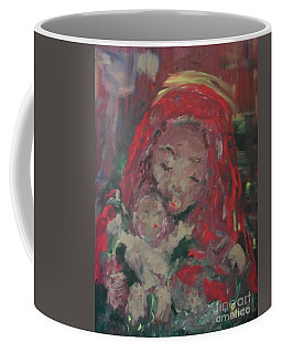 Coffee Mug featuring the painting Hope  by Laurie Lundquist