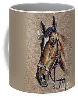 Horse Face - Drawing  Coffee Mug
