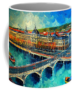 Hotel Dieu De Lyon Coffee Mug