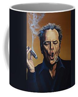 Jack Nicholson Painting Coffee Mug