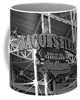 Jacobs Field - Cleveland Indians Coffee Mug by Frank Romeo