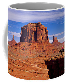 John Ford Point Monument Valley Coffee Mug