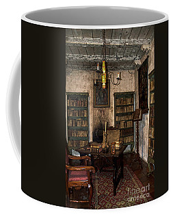 Junipero Serra Library In Carmel Mission Coffee Mug
