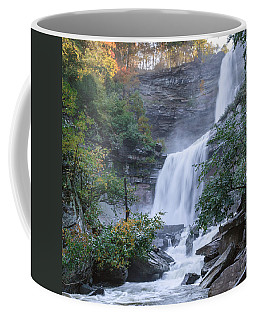 Kaaterskill Falls Square Coffee Mug