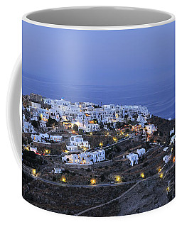 Kastro Village In Sifnos Island Coffee Mug