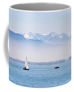 Coffee Mug featuring the photograph Lake Of Constance by Nick  Biemans