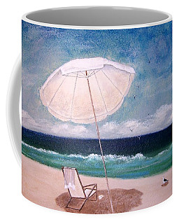 Coffee Mug featuring the painting Lazy Day by Jamie Frier