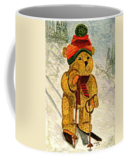 Learning To Ski Coffee Mug