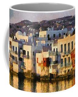 Little Venice In Mykonos Island Coffee Mug