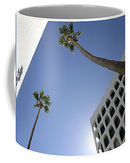 Coffee Mug featuring the photograph Looking Up In Beverly Hills by Cora Wandel