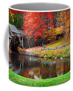 Mabry Mill Pano Coffee Mug
