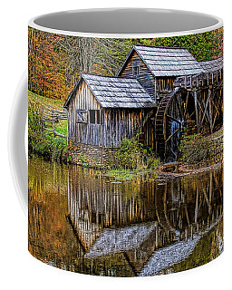 Coffee Mug featuring the photograph Mabry Mill by Ola Allen