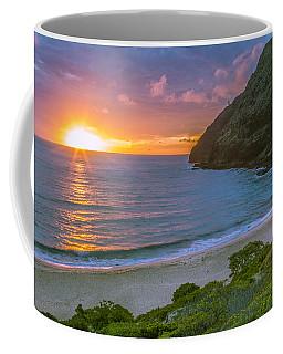 Makapuu Sunrise 1 Coffee Mug by Leigh Anne Meeks
