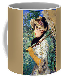 Coffee Mug featuring the photograph Manet's Spring by Cora Wandel