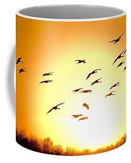 Migration Coffee Mug by Alexey Stiop