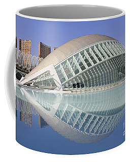 The Hemisferic In Valencia Spain Coffee Mug