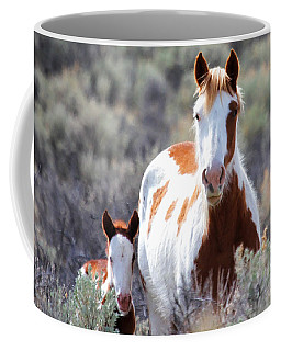 Momma And Baby In The Wild Coffee Mug