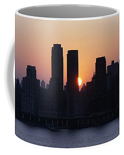Coffee Mug featuring the photograph Morning On The Hudson by Lilliana Mendez