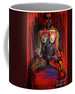 Coffee Mug featuring the drawing Motel 6 by Gabrielle Wilson-Sealy
