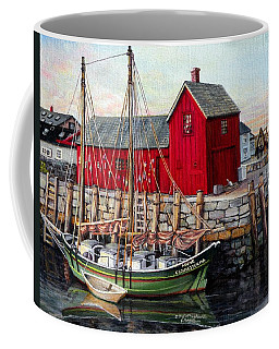 Motif  Number One Coffee Mug by Eileen Patten Oliver
