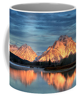 Mount Moran Coffee Mug by Steve Stuller