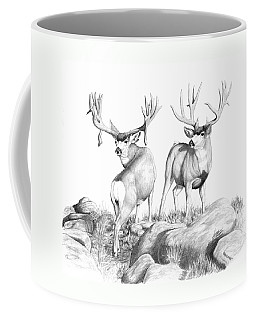 2 Muley Bucks Coffee Mug
