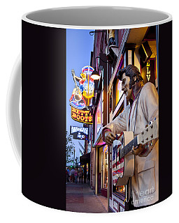 Coffee Mug featuring the photograph Music City Usa by Brian Jannsen