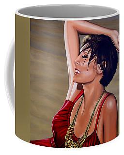 Natalie Imbruglia Painting Coffee Mug