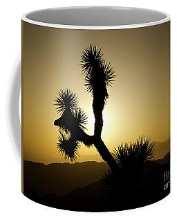 New Photographic Art Print For Sale Joshua Tree At Sunset Coffee Mug