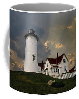 Nobska Lighthouse Color  Coffee Mug