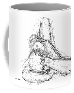 Nude Male Sketches 2 Coffee Mug