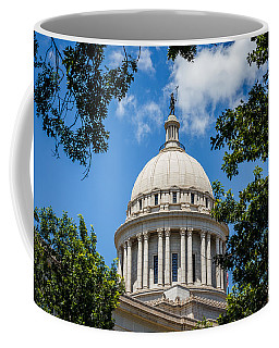 Oklahoma State Capital Dome Coffee Mug