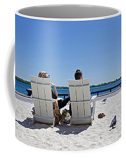 On The Waterfront Coffee Mug by Keith Armstrong