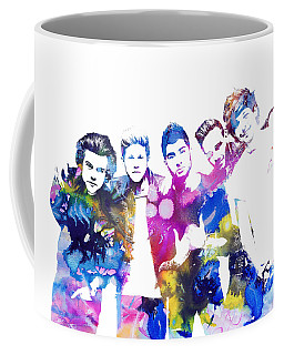 One Direction Coffee Mug by Doc Braham